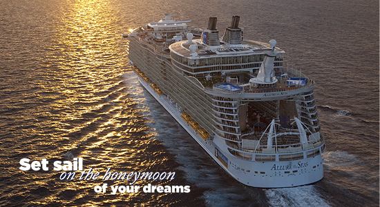 Set sail on the honeymoon of your dreams