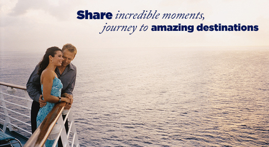Share incredible moments, journey to amazing destinations